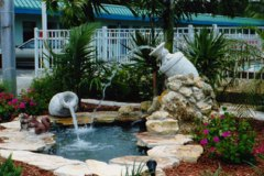 commercial fountain urns
